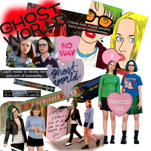 alicerosedaydream:  Ghost World Collage