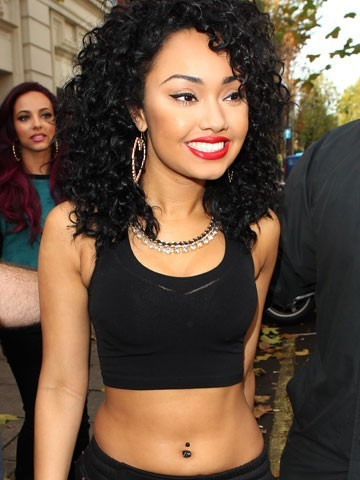 Leigh-Anne Pinnock little mix blond curls smile cute smile pretty girl