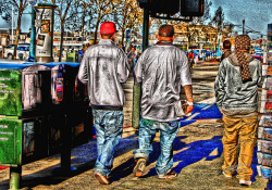 Saggy Bottom Boys on Flickr. Shot at Fishermans Wharf in San Francisco