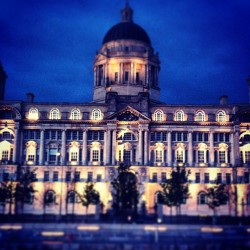 So pretty at night #liverpool