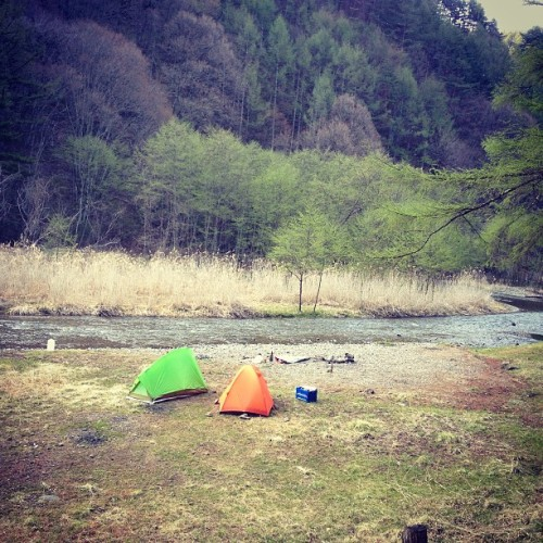 Favorite view. #fishing & #camping #flyfishing #japan