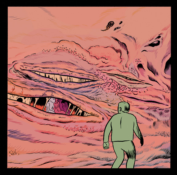 Panel from Care Part 2, with Matt Sheean. Inside Prophet #35, out in a month.