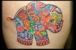 Elephant done by Nason.