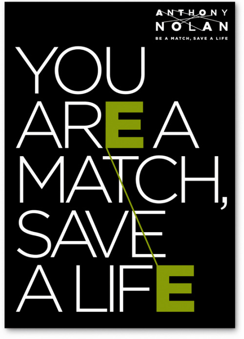 'st:appeal:3' You are a match, Save a life.