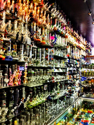 devilsbushkush:  Goodfellas in SF, CA. Sickest head shop