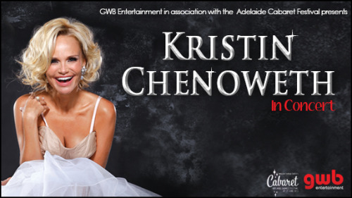 so, THIS is happening. Kristin Chenoweth at the Opera House. so, I'll be there. kthnksby