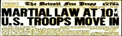 Detroit Free Press Headline