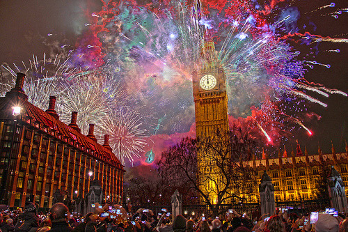 perfection7:  London 2013 New Years Fireworks