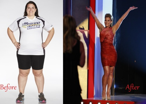 20000reasonstogetup:  Your newest Biggest Loser! I'm so happy for Danni, she deserved this.  The girl's on fire!