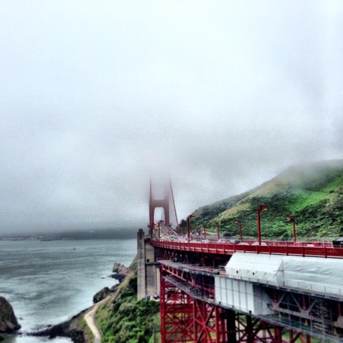 like 15% of the golden gate bridge… (at Vista Point)