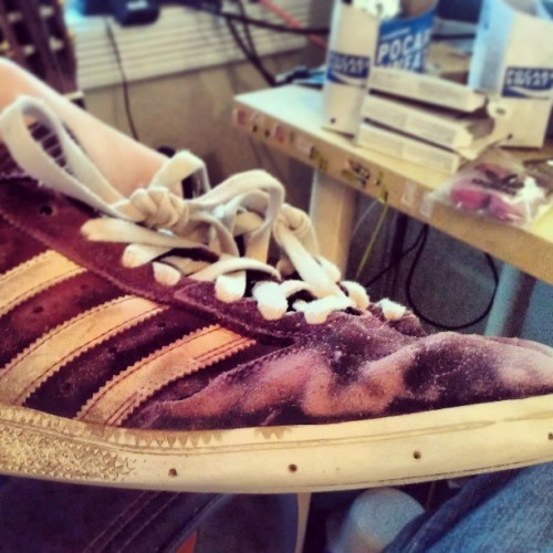 They might look like shit, but they still fit and skate good #adidas #busenitz