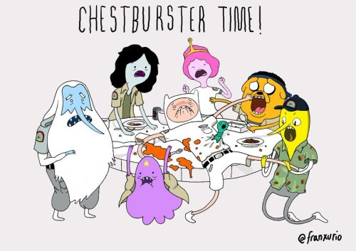 Art by Franxurio I've never seen Adventure Time, but if I had I'm sure I would love this