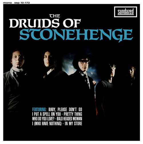 "The Druids of Stonehenge 10"" EP for Sundazed Music. Amber-colored vinyl!!"