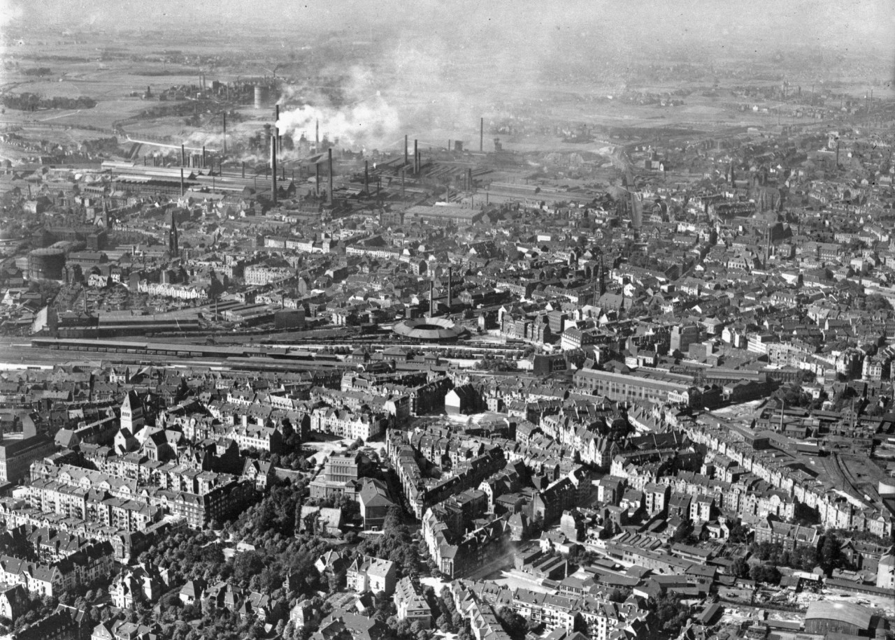 Aerial view of Bochum