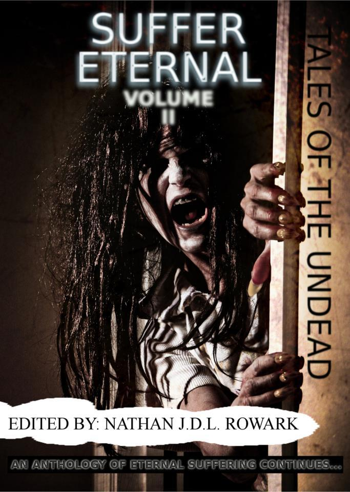 'Tales of the Undead - Suffer Eternal: volume II' has been finalised and is on its way shortly (May 28th), but it seems our authors aren't alone in its pages… something else has contributed a piece, an unscheduled wordsmith, a spectral entity that cries its tales from the dark. Its work could be anywhere in this anthology… Anywhere! It likes to call itself 'GhostInTheMachine', and I am truly terrified of what it will say. Its name doesn't appear in the contents list. I just saw its piece for a brief second and lost the page. When I looked for it again, it wasn't there. How did it get into our book in the first place? I thought I'd just imagined it; that I'd been working too hard. But the printers have told me it's back again, that somehow, whatever it is, it's managed to find its way back onto the page. Anyway, it's too late to do anything about it now! God help us… and God help those who read of its suffering…