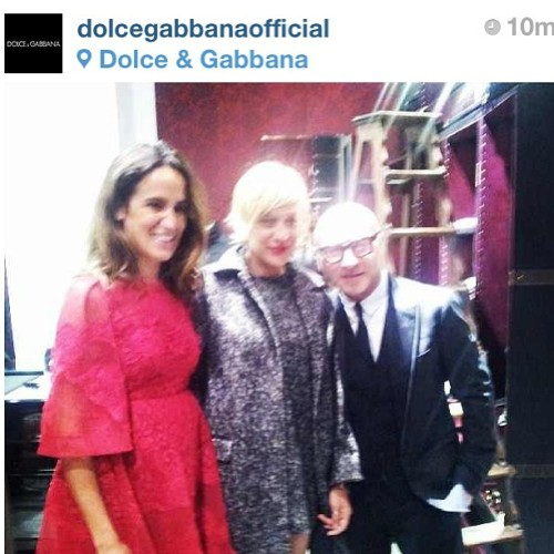 #rp So happy to be part of the hair team for Dolce & Gabana Grand Store Opening tonight on fifth avenue in NYC! #hairstylist #hairteam #dolceandgabana  #brushbeauty  (at Dolce & Gabbana)