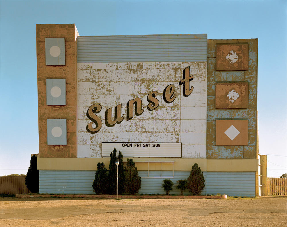 West Ninth Avenue, Amarillo, Texas, October 2, 1974. by © Stephen Shore | via dianalily