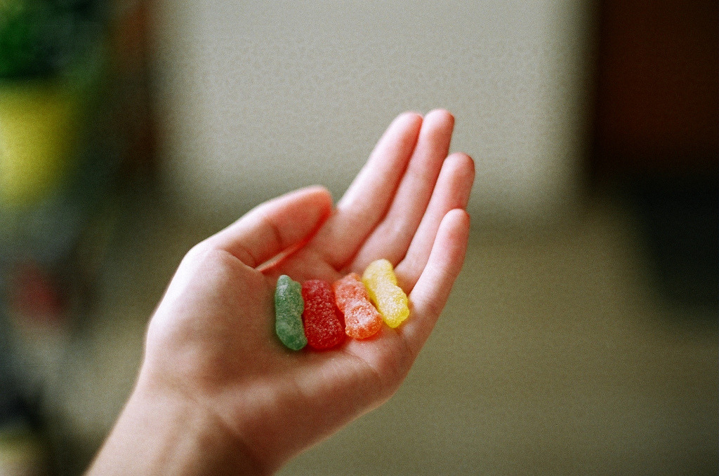 hea-rt:  sour candies (by Emily Soo)