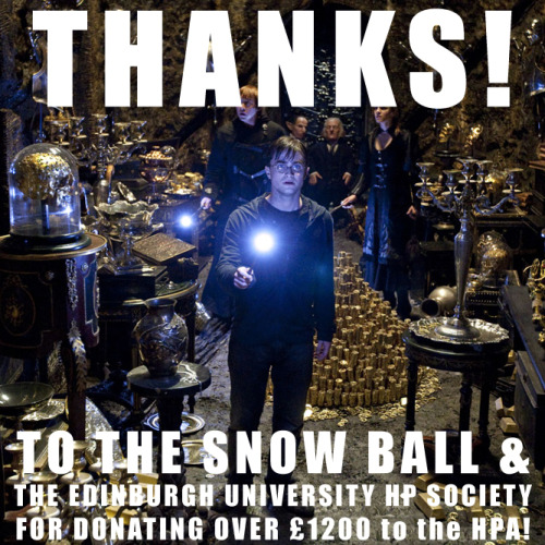 So much love and gratitude to our friends at the Snow Ball and the Edinburgh University HP Society for their generous donation after an awesome event this past December!