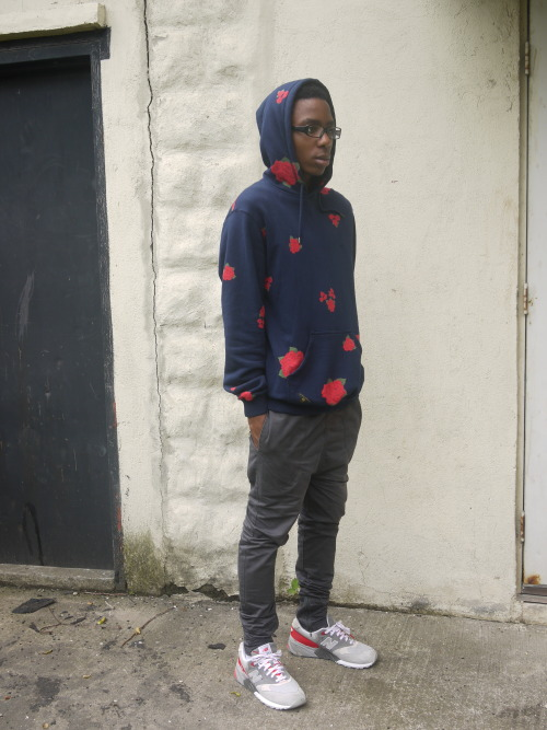 blackfashion:  Dashon, 19, NYC Hoodie: 10 Deep Pants: iLoveUgly Sneakers: New Balance Tumblr, Blogspot