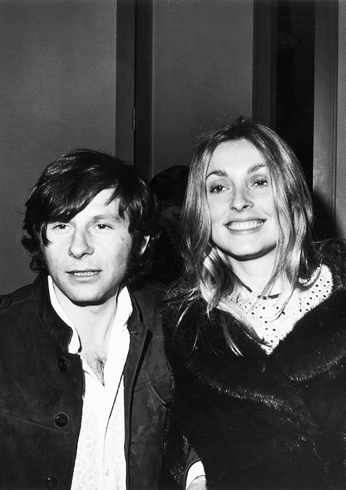 lovesharontate:  Roman Polanski and Sharon Tate attending the premiere of Goodbye Columbus (1969)