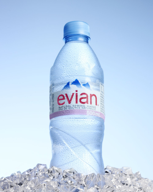 kbenfeyphotography:  Evian ad for school assignment.Shot with 6X9.
