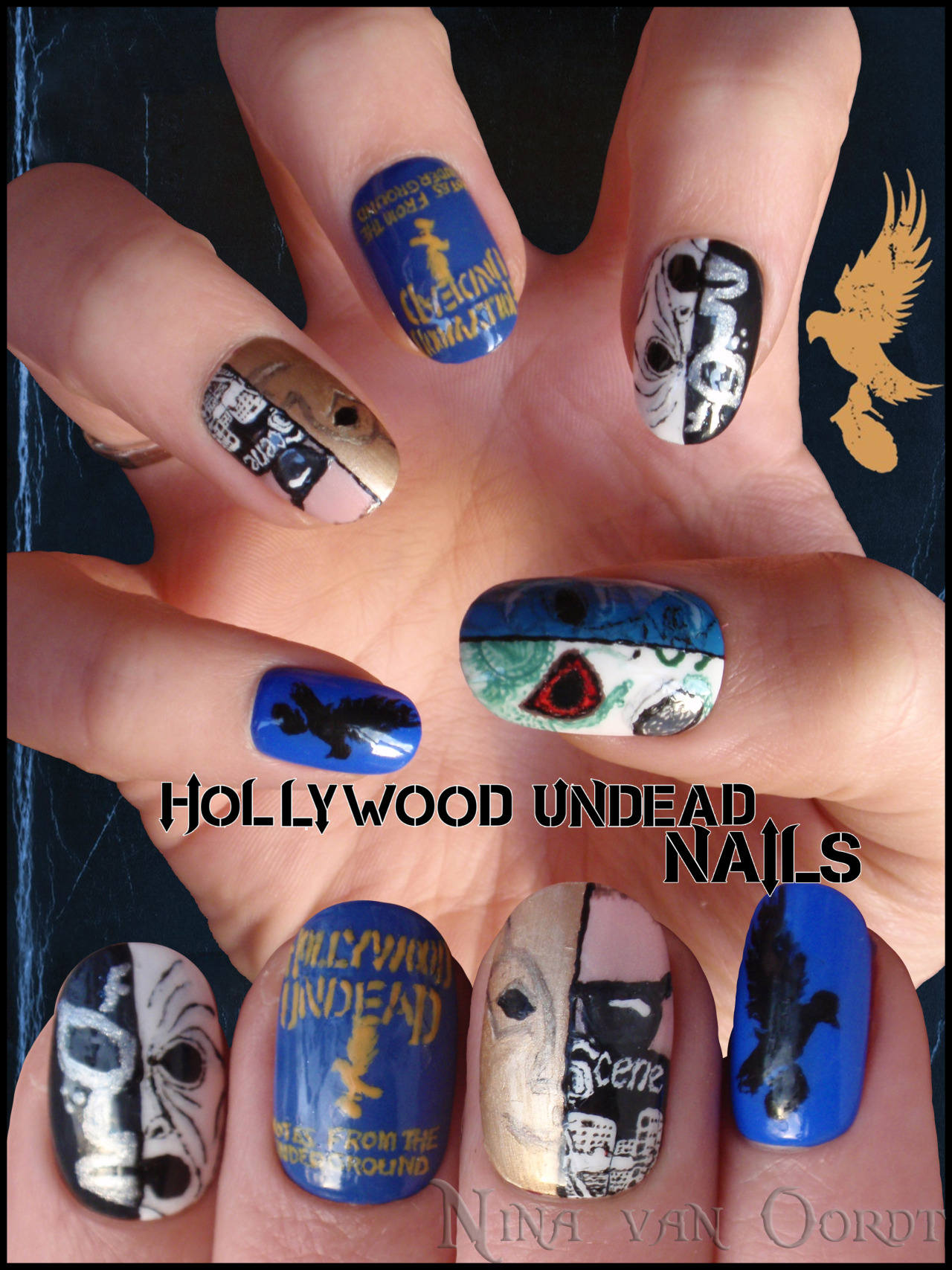 Hollywood Undead nails