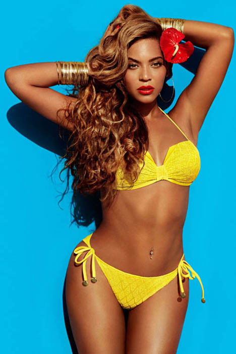 Beyonce Is Smokin' Hot in H&M Summer Collection