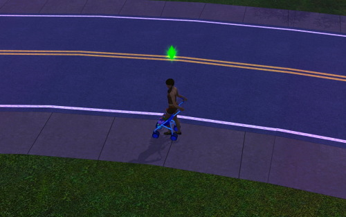 simsgonewrong:  That is EXACTLY how you take your child for a stroll.