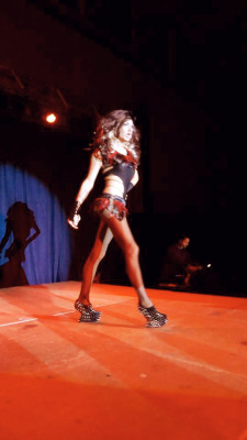 Me performing in the NMU 2012 Drag Show