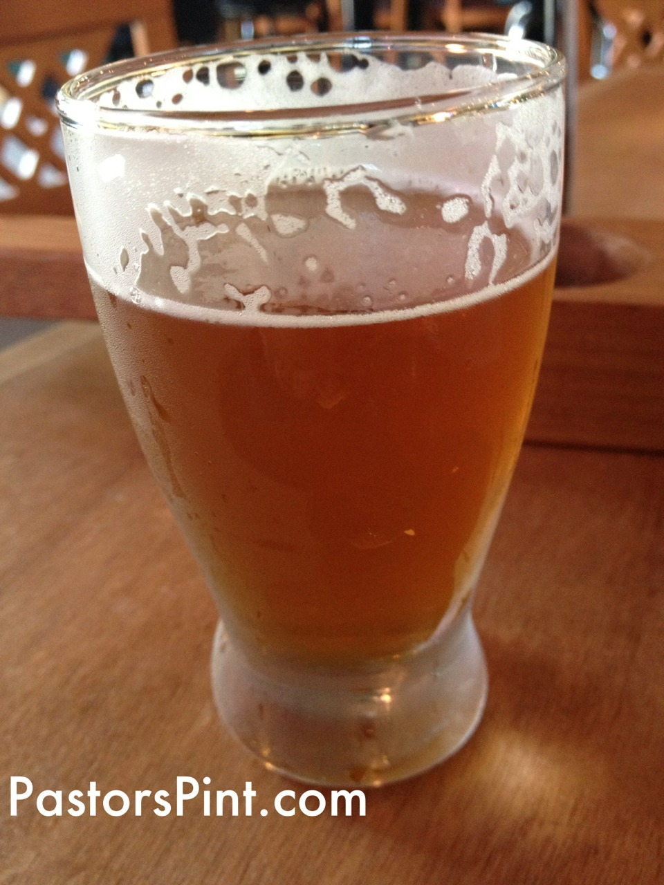 India Pale Ale -Yards Brewing Co.  Citrus and earthy flavors from the hops.  Carmel malts balance the hops.  2 Stars