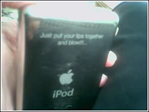 I miss my old iPod because of that quote