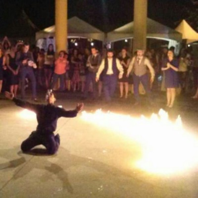 Me last night doing #zembekiko #mariettagreekfestival #opa #greek #wesetfiretotherain