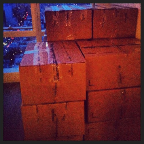 #club59 packed in #boxes #bittersweet moment :(   (at MiMA)