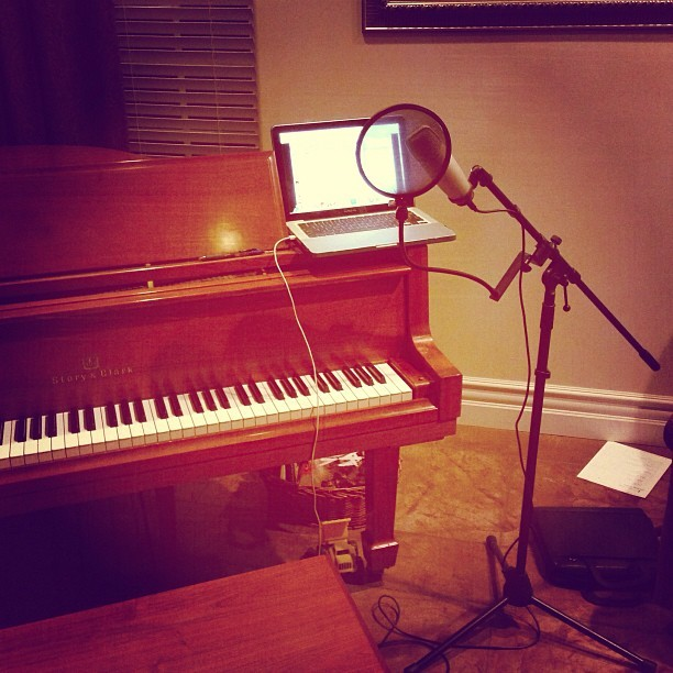 March Photo Challenge Day 14: Talent - Music. #Producing #Singing #Music