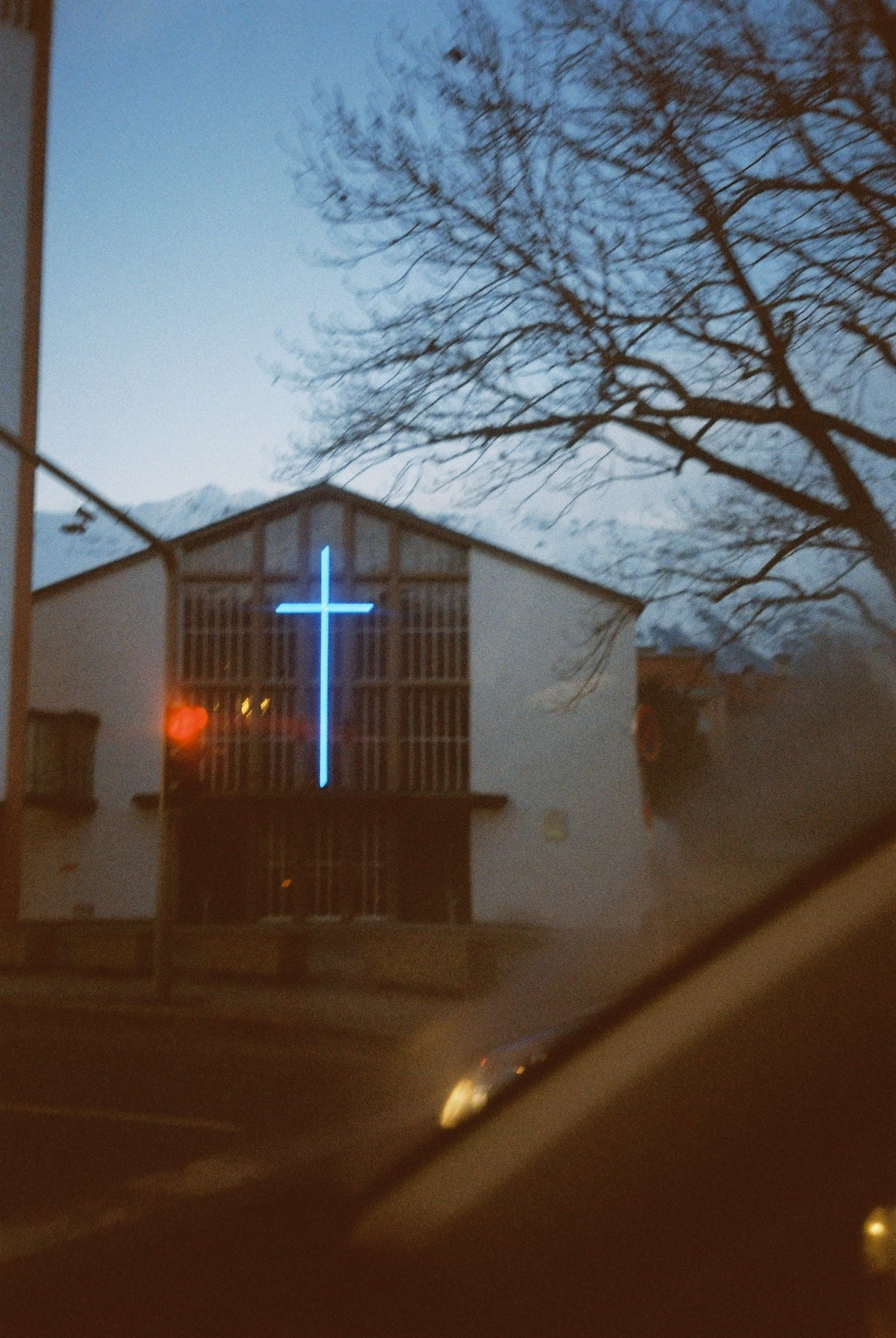 Neon Cross, Tirol Jan. 2013