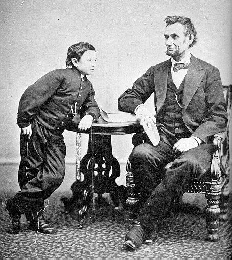 "queen—of—prussia:  thecivilwarparlor:  President & Tad Lincoln's Christmas of 1863 During the Christmas season of 1863, the Lincolns' son, Tad, had accompanied his father on hospital visits and noticed the loneliness of the wounded soldiers. Deeply moved, he asked his father if he could send books and clothing to these men. Packages signed ""From Tad Lincoln"" were sent to area hospitals that Christmas. Lincoln voted in favor of keeping Christmas day a workday, because he felt he would be wasting taxpayers' money if he took the day off. It was not until 1870, when then President Ulysses S. Grant signed into law the bill that made Christmas Day a national holiday, that the day was actually considered anything special.  What a sweet little boy <3"