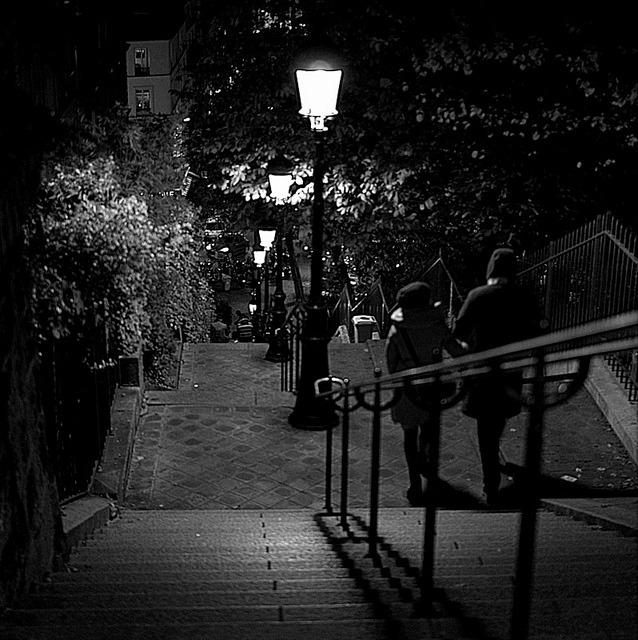 les amoureux du soir by primesautiere1 on Flickr.