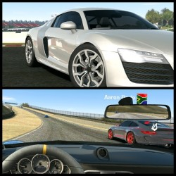 Real Racing 2 was great, graphics on #3 are immense and controls feel a lot tighter #realracing3 #ea