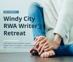 """Nourish Your Writer's Soul"" at 's Retreat featuring 2 inspiring writing workshops with Best Selling Author and seven time RITA winner, Barbara Samuel"