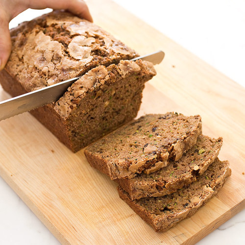 Boasting a moist, tender crumb and sweetly crisp crust, our latest Zucchini Bread recipe celebrates—and utilizes—summer's bounty of fresh, green produce.