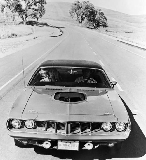 lostin70s:  Plymouth Barracuda 1971