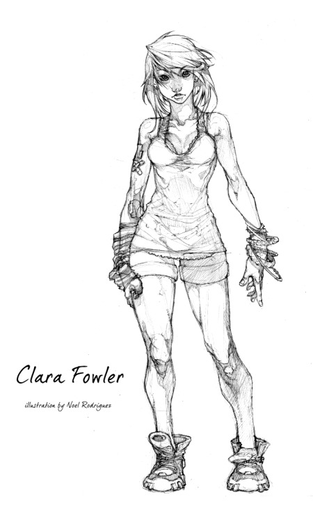 clara, a drawing by noelrodriguez