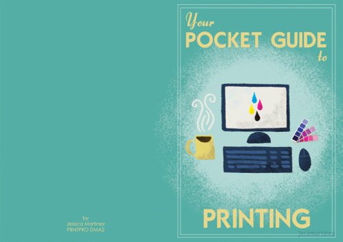 Your Pocket Guide to PrintingA project for my Printing Processes (PRNTPRO) class wherein we had to create a mini booklet about the different types of printing. Read more!
