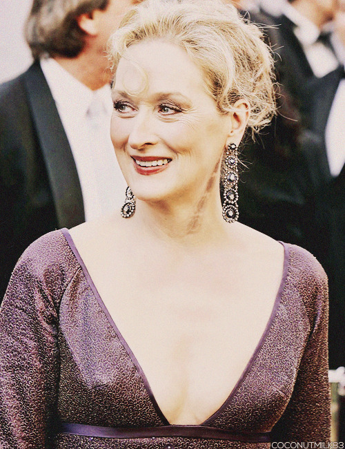 coconutmilk83:  Meryl Streep | Academy Awards, 2006 (✗)