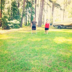 Last day camping. #camping #camp #fun #family #friends #lake #woods #yep
