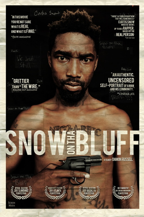 bearvsoctopus:  The Movie: Snow On Tha Bluff Directed by: Damon RussellStarring: Curtis Snow unreal.