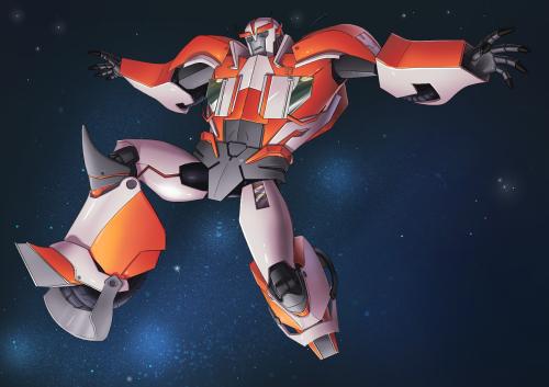 Ratchet TFP Ratchet Transformers Prime Manga Studio myart
