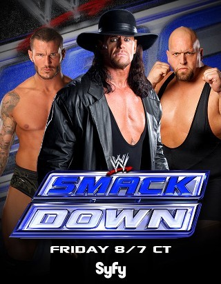 "I commented about WWE SmackDown! on GetGlue    ""WATCHIN' MI DVR'D WWE SMACKDOWN""        Join the Conversation"