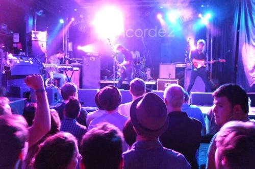 wearetallships:  Thanks to all who came down on Saturday to the Concorde 2… It's a pretty special feeling selling out the venue where you attended your first ever gig! BIG LOVE TO OUR BROTHERS IN THREE TRAPPED TIGERS, THE PHYSICS HOUSE BAND AND MUTINY ON THE BOUNTY !!!! Strong. (Photo By Jez Gates)  Ric has had a haircut, less flow but he sure looks trim!